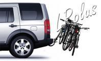 Крепление для перевозки велосипедов на Land Rover и Range Rover