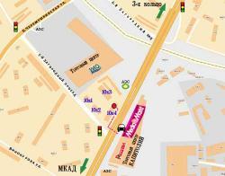 """Путь пешехода от остановки Торгового центра """"КАПИТОЛИЙ"""" до магазина LRplus"""