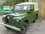 1958. Land Rover SeriesII. Использован новый 2-х литровый бензиновый двигатель.