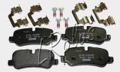 Задние тормозные не оригинальные колодки для Land Rover Discovery 4. Артикул LR019627 TEXTAR