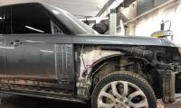 Кузовной ремонт в сервисе на Загородном шоссе д.1 корп.2