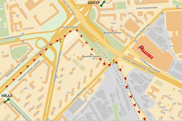 Торговый комплекс фиолент расположен в красносельском районе, недалеко от станции метро ленинский проспект на