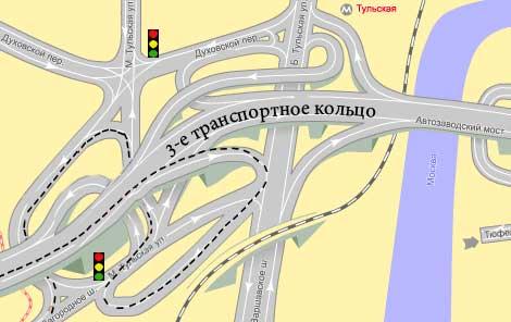 Выехали на Варшавское шоссе и